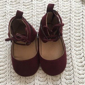 """NWOT"""" Suede Ballet Flats for Baby."""